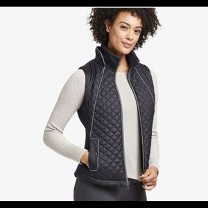 🍁NWT Johnston & Murphy Diamond-Quilted Vest